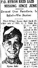 Byron Ball Reid - The Canadian Virtual War Memorial - Veterans Affairs  Canada