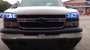 Apoc Color Changing Led Halo's 03-06 Chevy Silverado - YouTube