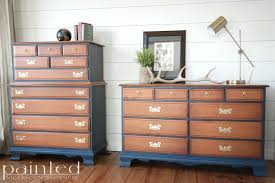 Two tone furniture painting Tone Two Tone Chest Of Drawers In Java Gel And Hale Furniture Beauti Cabinet Paint Dresser Two Tone Furniture Beauti Cabinet And Paint Stadioolimpico Two Tone Six Drawer Chest Furniture Painting Ideas Stadioolimpico