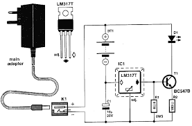 nicad battery charger circuit diagram nicad battery charger circuit diagram