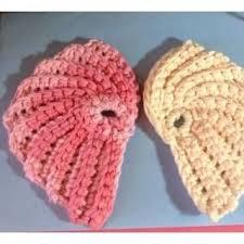 Free Crochet Patterns For Scrubbies Mesmerizing Angel Wing Scrubbie Free Crochet Pattern Crochetchristmas