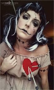 voodoo doll man makeup page 1 line