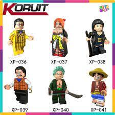 Đồ Chơi Xếp Hình Lego Minifigures Mô Hình Nhân Vật Đảo Hải Tặc One Piece  Nhiều Mẫu Koruit XP036 - XP041