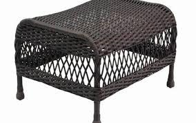 grey outdoor indoor brown large resin furniture wicker cushions gray round storage ottoman tray set gardening