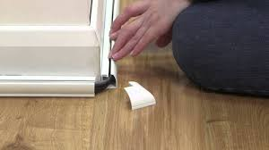 Hide Cable Wires Floor Trim Thats Easy To Fit Also Hides Cables Youtube