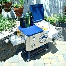 patio cooler cart outdoor stainless steel carts costco home depot canada patio cooler