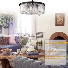 how high to hang chandelier in living room meelighting crystal chandeliers modern contemporary of 26