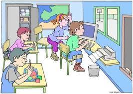 Resultado de imagen para trabajo en clase de informatica