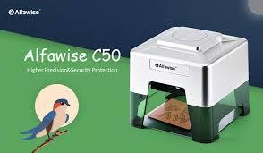 <b>Alfawise C50 Mini Wireless</b> Smart Laser Engraver Cutter Review ...