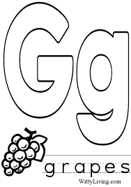 Letter G Coloring Sheets Letter G Coloring Pages Getcoloringpages