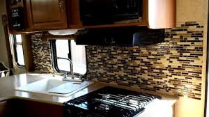 Install Backsplash Beauteous Blog What Backsplash Tiles Can Be Installed In A RV Smart Tiles