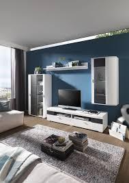 Wohnwand Mit Beleuchtung Ebenso Gut Wie Luxus Modern Design Wohnwand