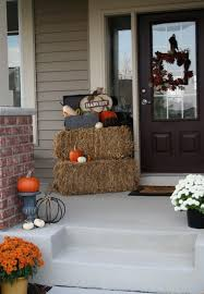 fall front door decorations85 Pretty Autumn Porch Dcor Ideas  DigsDigs
