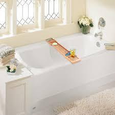 Bathtub Tray Bamboo Bathtub Caddy With Expandable Arms