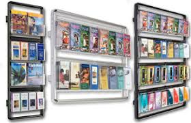 Flyer Display Stands Literature Displays for Advertising Events with Pocket Configurations 34