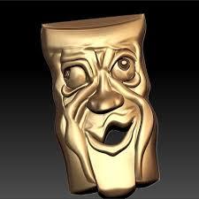 Funny Face Templates Download Free 3d Printer Templates Mask Cnc Art Face Bad