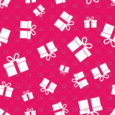 Gifts Background Gift Seamless Pattern On Pink Background Celebration Wallpaper With Gifts Stock Vector Image