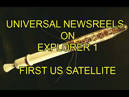 「1958 Explorer 1 launched」の画像検索結果