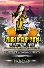 how to make a sports flyer free 2014 world cup templates make your own postcard or flyers for