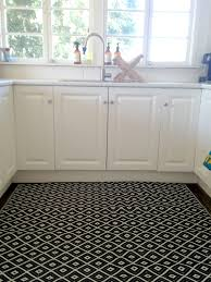 Decorative Kitchen Rugs Black Kitchen Mat Rugs Cliff Kitchen