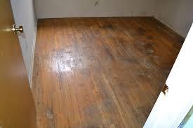 refinishing water damaged hardwood floors
