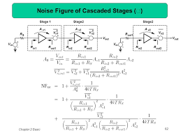 62 noise figure of cascaded stages Ⅰ