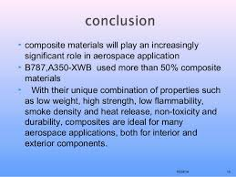 Ppt On Composite Materials Composite Materials In Aerospace Application Seminar