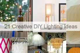 21 creative diy lighting ideas jpg