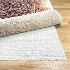 superior non slip reversible hard surface area rug pad under rugs for carpet