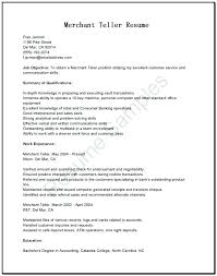 Resume For Teller Position Pnc Bank Teller Sample Resume Ruseeds Co
