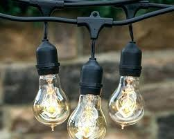 outdoor edison bulbs 2 sets bulb copper plated