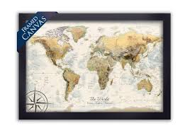 interior canvas world map comfortable personalized large highly detailed print or push for 16 from on ikea canada canvas wall art with canvas world map magellan framed push pin travel maps along with 9