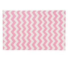 chevron wool rug 5x8 ft pink