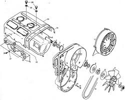 rotax 503, rotax 503 fan parts, fan parts for points ignition rotax aircraft engine parts at 503 Engine Diagram