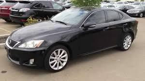 lexus is 250 2008 black.  2008 Pre Owned Black 2010 Lexus IS 250 AWD  Leather With Moonroof U0026 NAV Package  Review Camrose AB YouTube In Is 2008