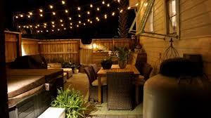 backyard string lighting. Endorsed Outdoor Strand Lighting String Of Lights Designs Backyard