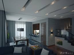 Modern Dining Room Recessed Lighting Ideas Affixed In A  Row Of Slatted Openings Illuminates The 11