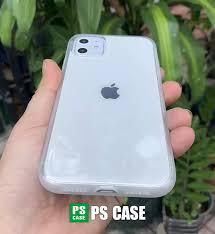 Ốp lưng dẻo chống sốc cao cấp dành cho iPhone 11 - Màu trắng mờ - PS Case  Phân Phối