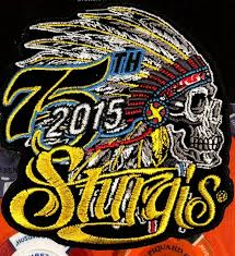 hot leather patch sturgis indian head 2016