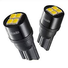 194 <b>T10 LED</b> License Plate <b>Lights Bulbs</b> Non-polarity, [<b>2018</b>