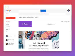 Gmail Newsletter Mockup Sketch Freebie Download Free Resource For