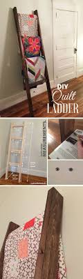 easy diy furniture projects. Check Out How To Build An Easy DIY Quilt Ladder @istandarddesign Diy Furniture Projects