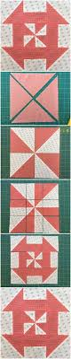 132 best Disappearing quilt blocks images on Pinterest | Tutorials ... & Block 5: Disappearing pinwheel sampler quilt Adamdwight.com