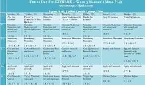 21 day fix extreme calendar 21 day fix workout schedule week 3 anotherhackedlife
