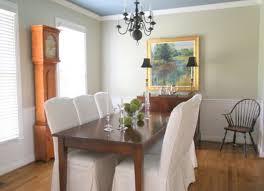 G Gray Green Dining Room