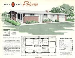 home design info 1950s ranch style plans