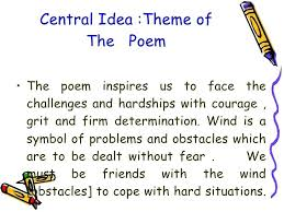 Idea For A Poem Poetry Topics Ideas Metaphor Idea Poems Central Idea