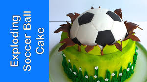 Soccer Ball Icing Decorations FIFA Soccer ball cake Football cake How to make a ball 39