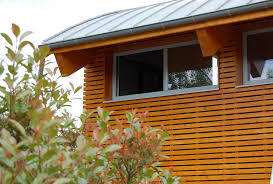 conception de maison ossature bois dans