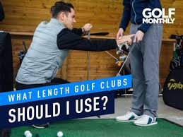 What Length Golf Clubs Should I Use Golf Monthly